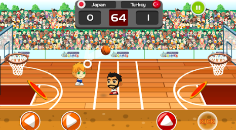 Kafa Basketbolu Oyunu Oyna